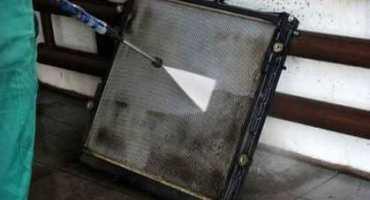 Промывка радиатора охлаждения